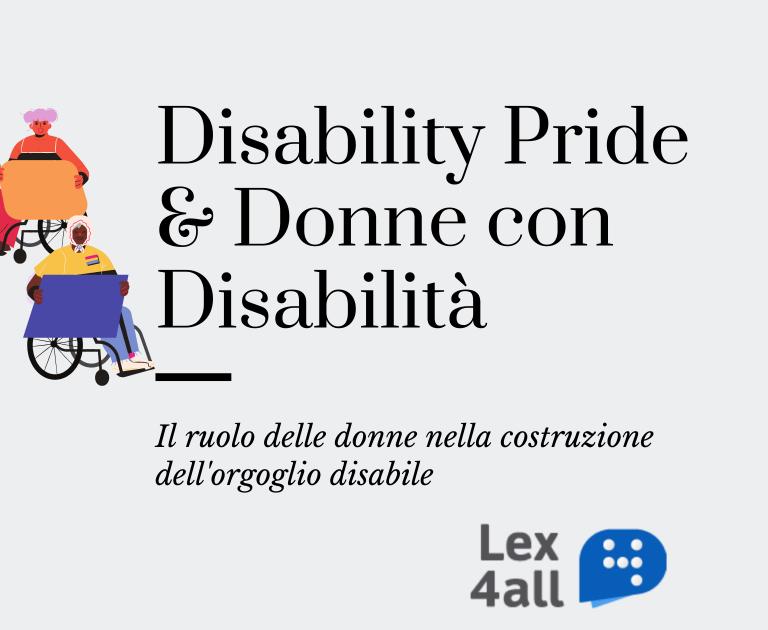 Copia di Disability Pride & empowerment delle donne con disabilità